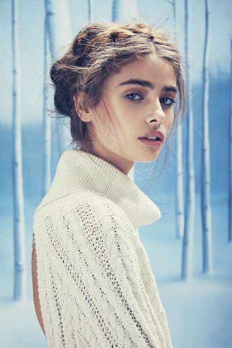 Whimsical Winter Fashion Ads - The Love & Lemons Holiday Campaign Stars a Romantic Taylor Hill