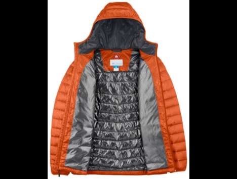 Insulated Performance Jackets - This Hooded Down Jacket by Columbia Offers Warmth and Style