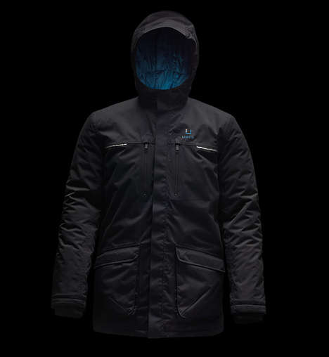 Featherweight Winter Parkas - The Black Storm Parka Features High-Tech Construction