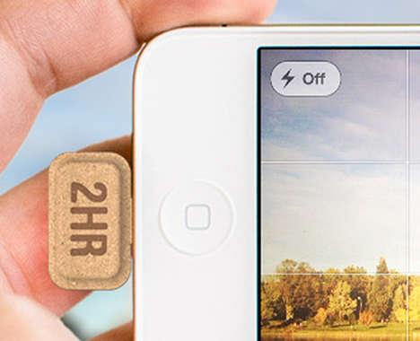Disposable Smartphone Batteries