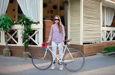 Bicycling Beauty Photography - Cycles Lady Captures Bikin' Babes All Over Town