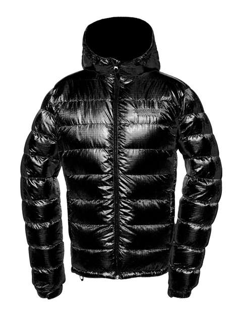 Protective Down Jackets - The Mojave Warm Down Jacket Boasts a Unique Water-Repellent Fill