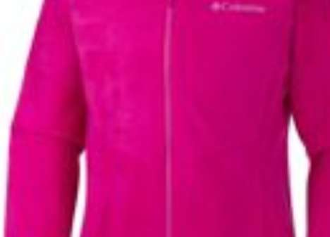 Technologically Advanced Jackets - The Girls' Bugaboo Interchange Jacket is Three Jackets In One