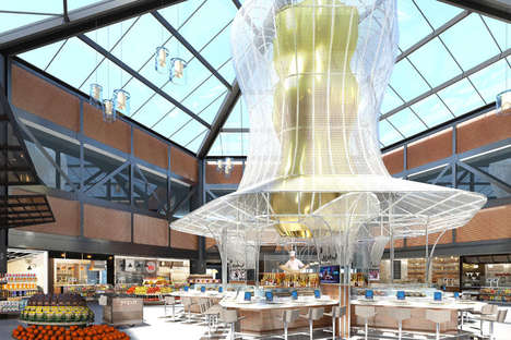 Food-Focused Terminal Redesigns - The United Airlines Terminal at Newark Airport is Getting a Reboot