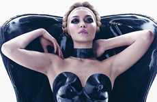 Sensually Risque Photoshoots (UPDATE) - The Pirelli Calendar Girls Channel Their Inner Vixens