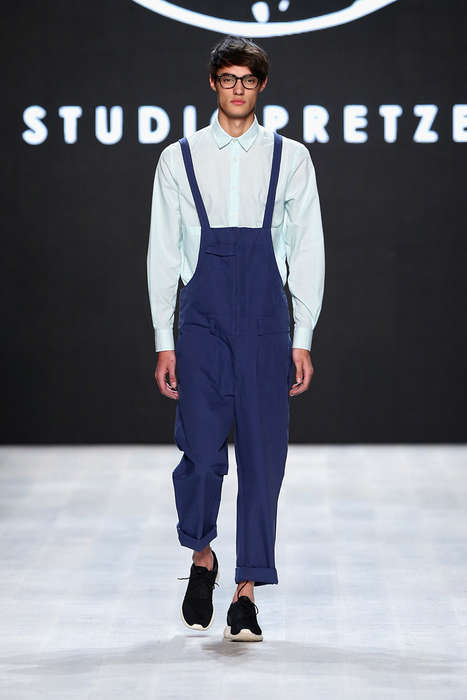 Nerdy Hipster Uniforms - The Latest Studiopretzel Collection is Normcore-Inspired