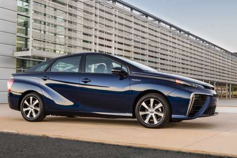 Futuristic Fuel Cell Cars - The Toyota Mira is An Eco-Friendly Technological Marvel