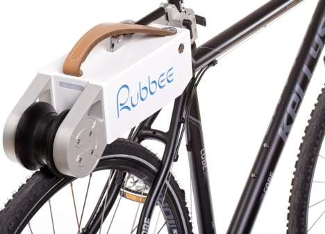 Bike-Boosting Motors - The Rubbee 2.0 is a Smart Motor For Bicycles
