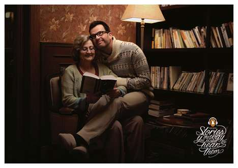 Nostalgic Storytelling Ads - The Penguin Audiobooks Campaign Brings Back Fond Childhood Memories