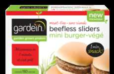Hearty Beefless Sliders - The Gardein Beefless Sliders Pack a Protein-Filled Punch