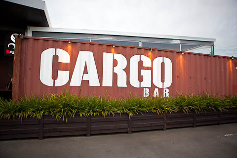 Temporary Shipping Container Bars