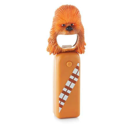 Noisy Galactic Openers - These Star Wars Themed Novelty Bottle Opener Products Make Sound Effects