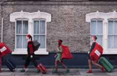 Elfin Shipping Services - Virgin Trains Promotes Its Bag Magic Service with a Jolly Cast of Elves