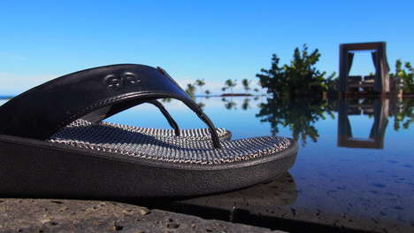 Chainmail Beach Sandals - STEELYZ is Crafted with Luxurious Stainless Steel Chainmail