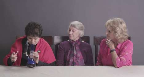 Viral Senior Drug Videos - Watching Grandmas Smoking Weed is the Funniest Thing on the Internet