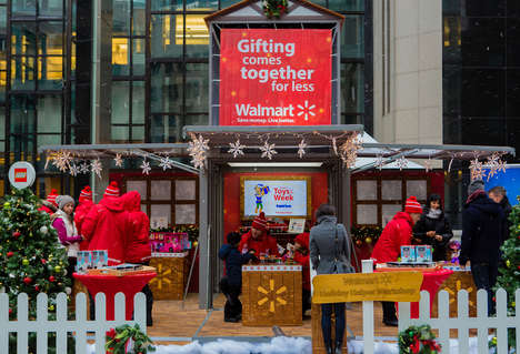 Pop-Up Toy Shops - Walmart's Holiday Helper Toy Shop Lets Shoppers Test Out the Top Toys