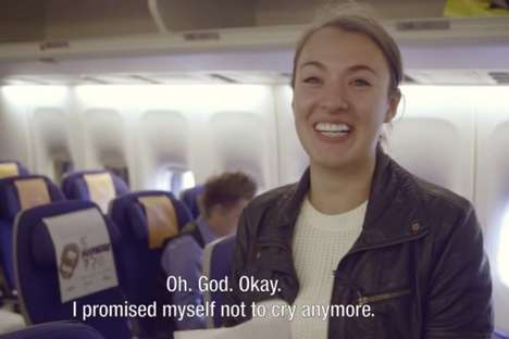 Heartwarming Headrest Messages - KLM's Cover Greetings Surprises Passengers with Personalized Notes