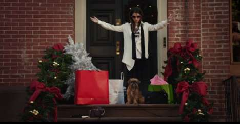 Shoppable Christmas Commercials - This Kate Spade Christmas Ad Stars an Inventive Anna Kendrick