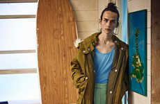 Eclectic Surfer Catalogs - The Latest TOPMAN Spring Collection is Inspired by the 70s