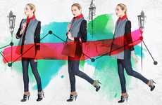 Navigational Vibrating Jackets - The Wool Coats from Wearable Experiments Provide Haptic Feedback