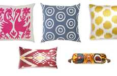Socially Conscious Throw Pillows - These Home Decor Items From Far & Wide Collective are Uzbekistani
