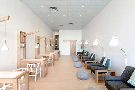 Minimalist Manicure Salons - Missy Lui is a Toxic-Free Nail Salon With a Warm and Clean Aesthetic