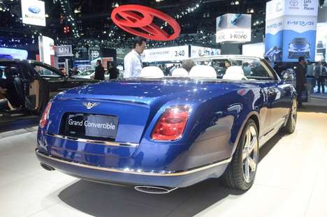 Sophisticated Convertible Cars - The Bentley Grand Convertible Offers Luxurious Open-Air Driving