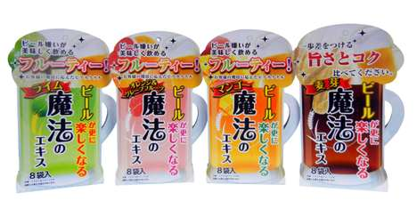 Beer-Flavoring Powders - Ajigen's Powdered Packets Let You Customize a Beer Flavor