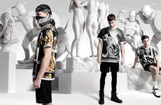 Historically Futuristic Fashions - This Is Not Clothing's Collection III Boasts Graphic Streetwear