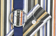 Social Good Timepieces - Azula Watches Feature a Fabric Face and Benefit Those in Need