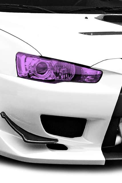 Colorful Headlight Skins - DECALKITS Sells Auto Accessories for Custom Car Fans