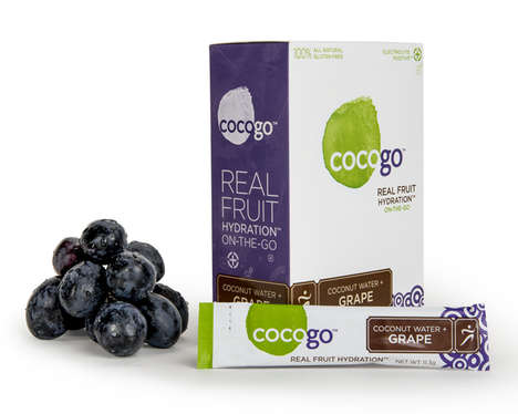 Fruity Hydration Packets - Cocogo's Sports Drink Packets Help You Keep Hydrated on the Go
