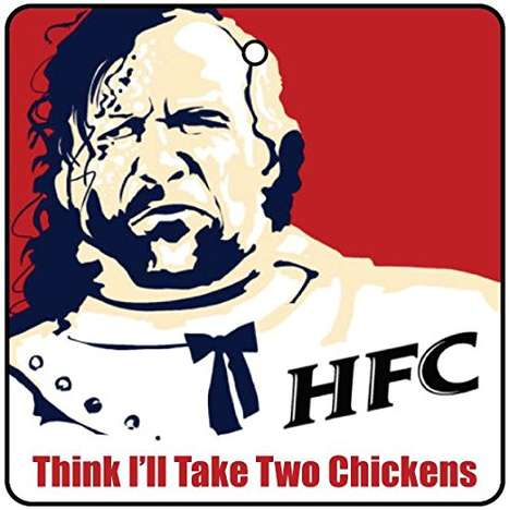 Fried Chicken Car Freshener - The Hound Fried Chicken Car Freshener Brings KFC Odors To Your Car