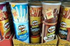 Chocolate-Flavored Chips - Pringles' White and Milk Chocolate Chip Flavor Beckons Sweet Tooths