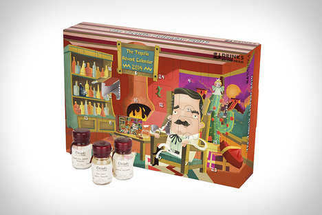 Boozy Christmas Countdowns - The Drinks by the Drams' Tequila Advent Calendar is Made for Adults