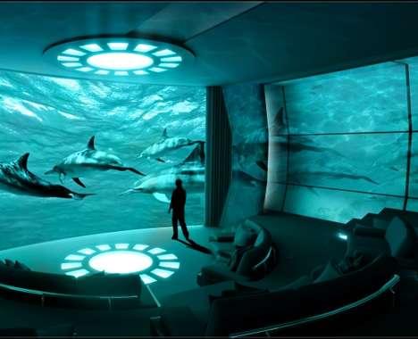 Immersive Yacht Cinemas