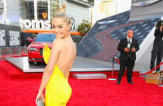 Sunny Celeb Couture - Rita Ora's American Music Awards Red Carpet Look is Theatrical