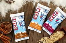 Festive Energy Bars - These Flavored Energy Bars Taste Like Pumpkin, Pecan and Gingerbread