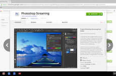 In-Browser Editing Programs - Project Photoshop Streaming Provides Online Photo Editing in Chrome