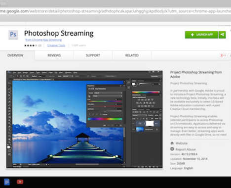 In-Browser Editing Programs