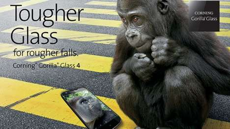 Smash-Resistant Glass - Corning's Gorilla Glass 4 is Designed To Survive Being Dropped