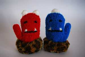 These Cubic Kids Gloves by Nobumasa Takahashi are Adorably Cozy