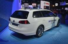 Fuel Cell Wagons - The Volkswagen Golf SportWagen HyMotion Has a Fuel Cell And Lithium-Ion Battery