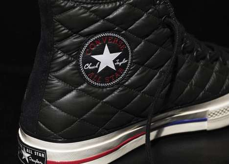 Winterized Down Sneakers - The Converse Chuck '70 Down Jacket is Inspired By Down Jackets