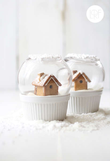 Edible Snow Globes - Sandeea Cocina Creates a Sweet Gift for Guests and Hosts