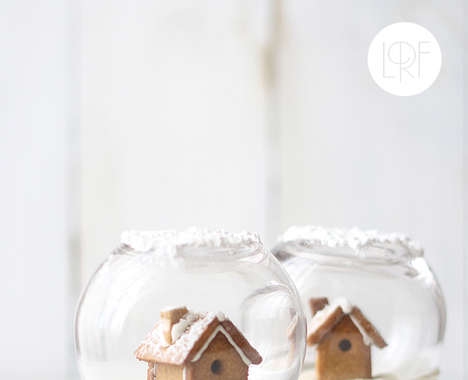 Edible Snow Globes
