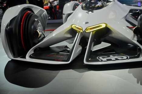 Laser-Powered Cars - The Chaparral 2X Concept Uses a Laser Powertrain