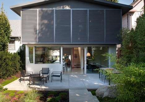 Renovated Urban Cottages - The 430 House by D'Arcy Jones Architecture Updates an 80s Residence