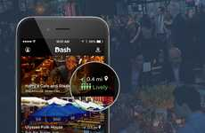 Real-Time Vibes-Gauging Apps - Dash's Venue Vibes Feature Indicates Restaurant Atmosphere Right Now