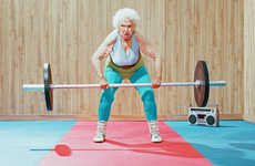 Elderly Athlete Photography